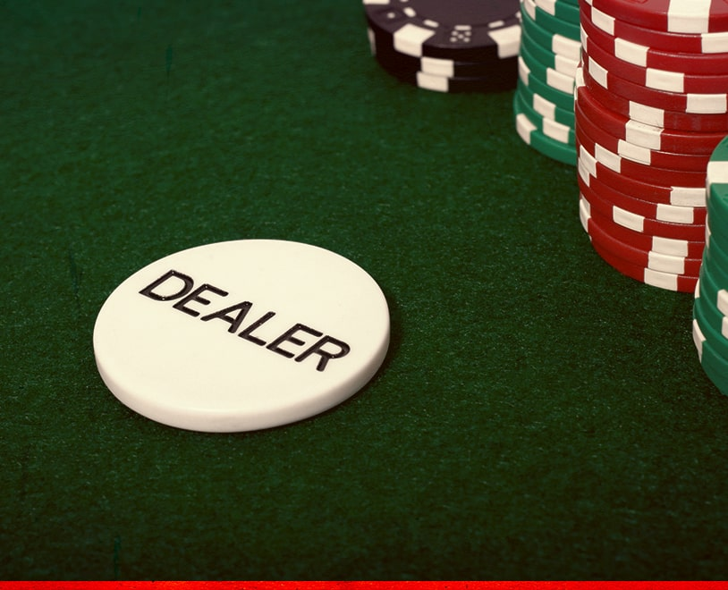 Poker Dealer Button - Ignition Poker